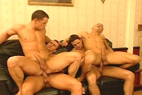 Masked males Have Their Way with Two Hunky Italian men