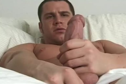 Jack Getting excited And Masturbating On sofa