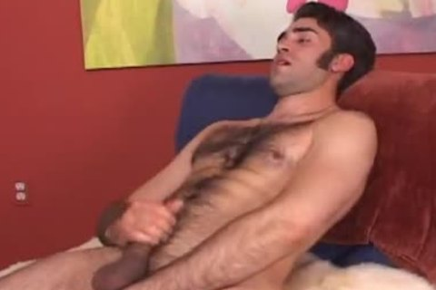 handsome str8 shaggy lad follows my instructions and shows his stu