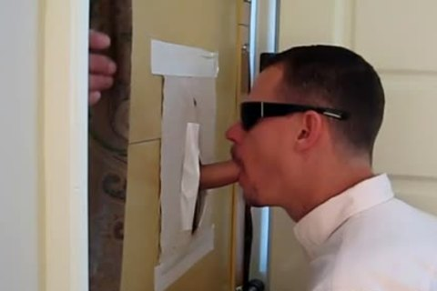 "Latino, 5'11"", 33 y/o 7"" Uncut, acquires unfathomable GloryHole blowjob"
