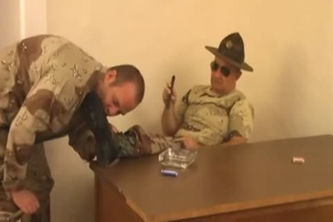 Sergeant daddy and his Soldier