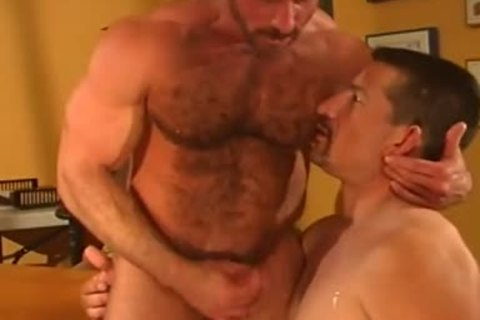 Bear hunk pounded rareback factory movie scene