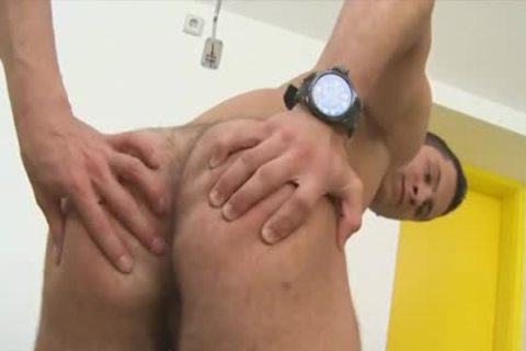 Tattoed 10-Pounder acquires 10-Pounder in his taut pooper - wazoo fuck clip scene - Tube8.com