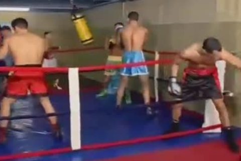Boxing Ring Sex Session - brutaly sex clip - Tube8.com