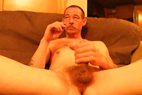 Captivating smoke jerk off cum solo malemotion