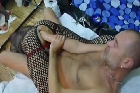 Cock ramming into her