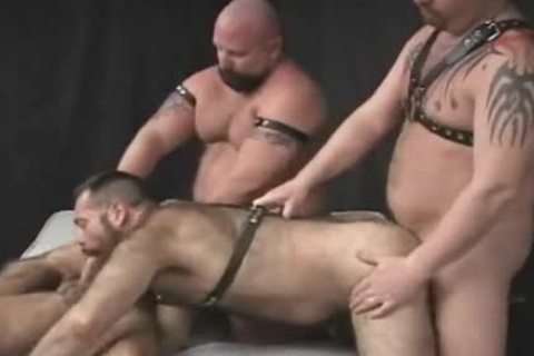 Homo foursome irrumation and painfully
