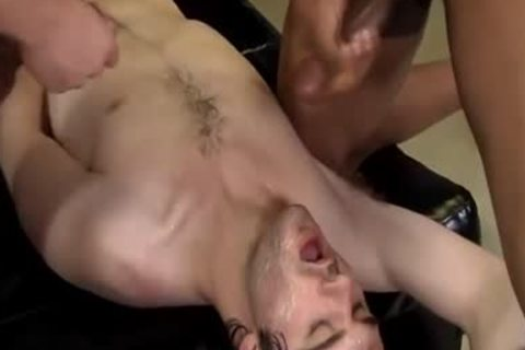 Laid Back Hunk In painfully nude fuckfest