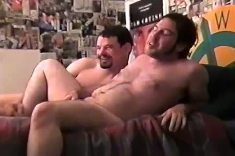 dilettante agreeable Hunks Ultimate booty banging three-some