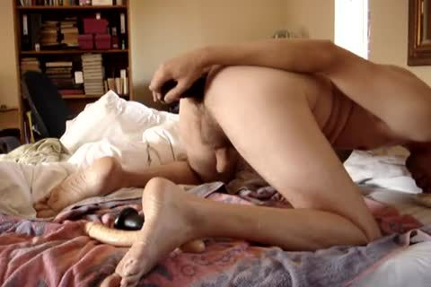 vibrator Play Witth Pugs And Dildoes