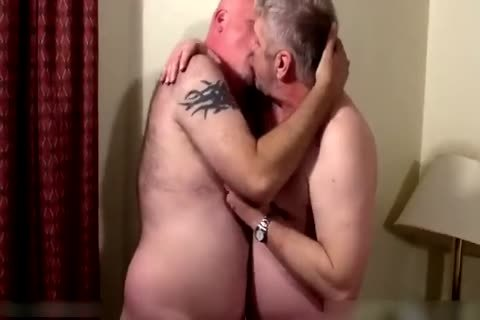 Two dirty daddies in bedroom