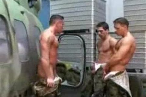 three dirty Soldiers