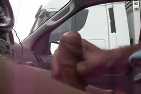 Trucker Flashing three - Getting Caught By Truckers