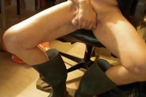 Nlboots - Green Boots, stroking, Smoking And