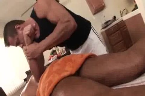 daddy Massage Turns wicked