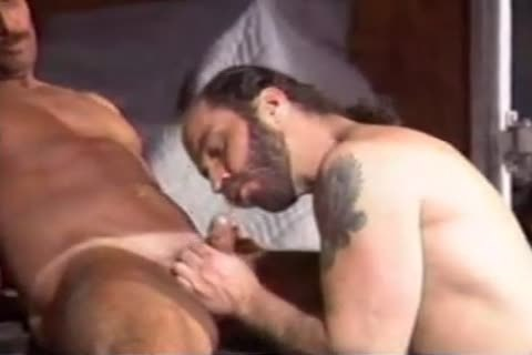 Vintage males engulf And Jerk Eachother Off