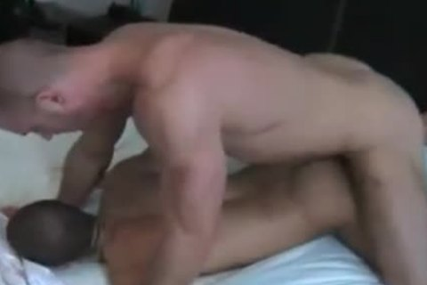 Homo males ram nude dripping shlong into butthole