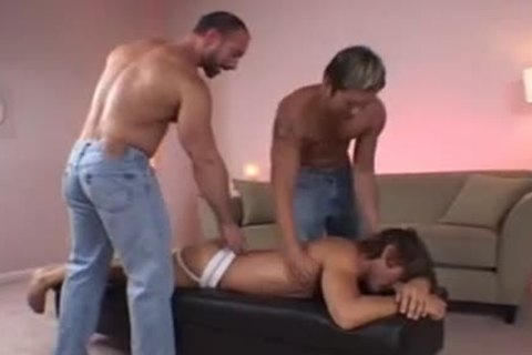 Steamy Threeway asshole Penetration