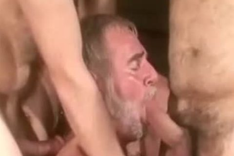 Real Bears Male engulfing & nailing orgy