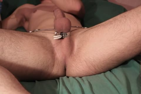 Teasing Myself With Electro, ass Play And Pegs