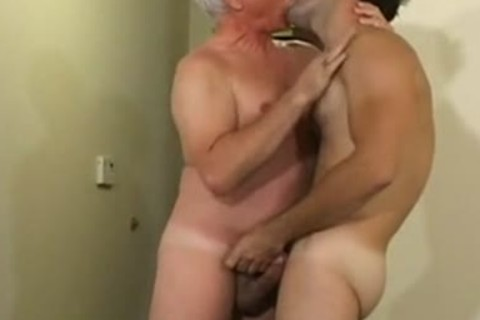 old man nails Younger twink