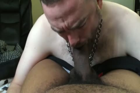 Pup Parker engulfing & Throating taskmaster Mac's large darksome knob