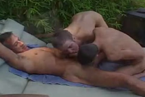 Jay Taylor pokes Two young twinks