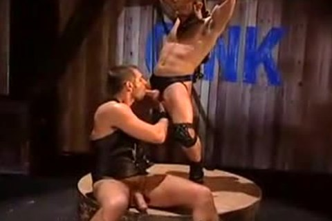 Leather wolf scene 2 macho chap clip
