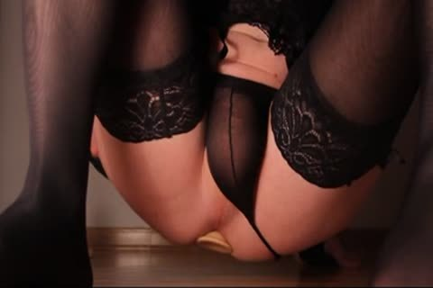 Crossdresser anus intercourse anus Training