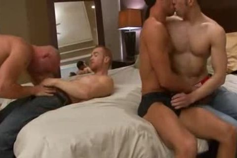 Appealing foursome steamy pound
