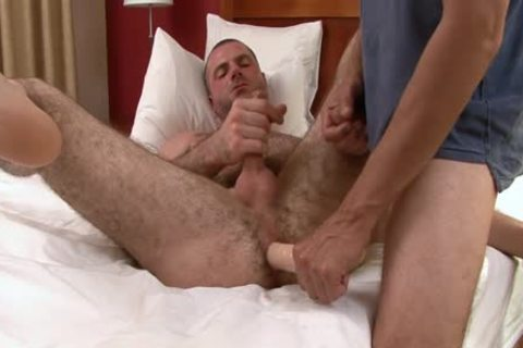 engulfing And nailing bushy dude