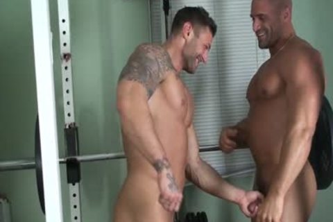 Buff And fastened - Muscle fastened And Worshipped