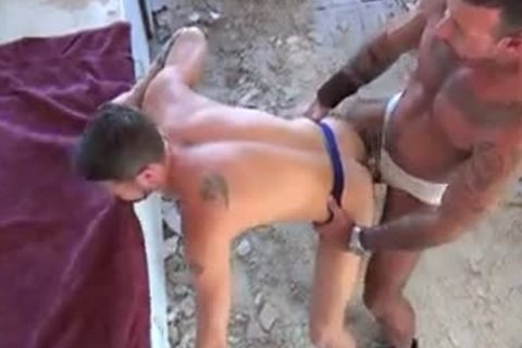 pumped up homosexuals chocolate hole pounding - Factory clip scene scene