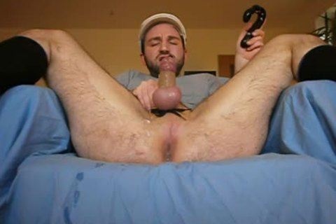 Playing Around With Some dildos And Jerking My Prostate To A sperm Explosion