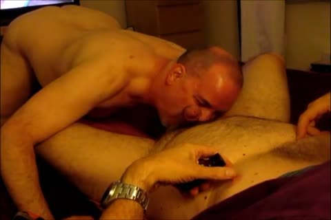 Engulfing the chap and the shlong acquires slobbered up
