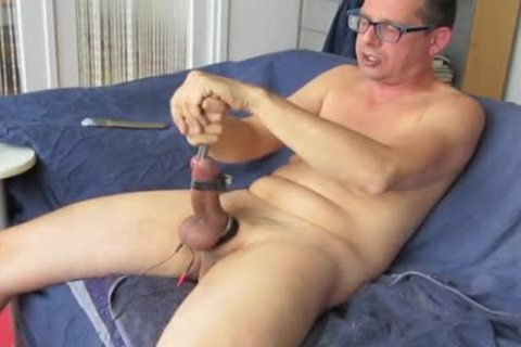 Short Edit Of The Vid '17mm Loadblocker In My cock, Balls Vibrating'. Sounding Vid.