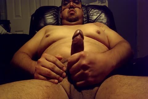 """An Explicit Continuation Of My YouTube clip, """"Late Night Belly Play."""" have a pleasure ;)  Body Info + Measurements (as Of April 25):   Weight: 220 hammers  Belly: 47""""  Chest: 49""""  Hips/arsehole: 43""""  hips: 24""""  10-Pounder (l X G): 6.5 X"""