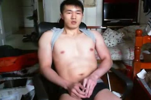 A wicked Chinese Hand Job In web camera