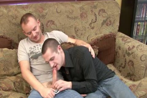 passionate gay Getting Nailed On The sofa