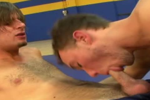 palatable homo penises fucking In The Gym