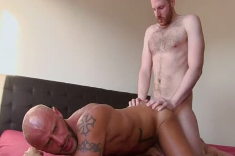 Aymeric Deville Has His booty pounded By Aymeric Deville