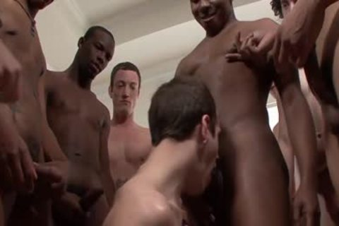 Nasty homo clip with monstrous weenie group sex scenes