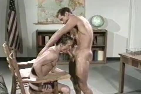 Teacher nails Muscle penis Student