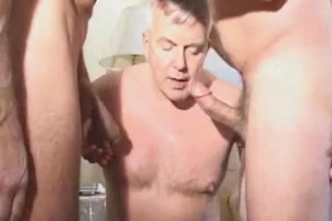 daddy older Suit Silver Daddy Have admirable Sex In Hotel Room