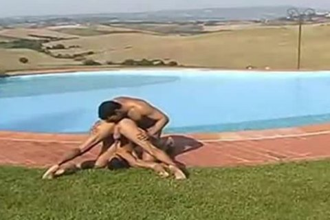 lustful Bodybuilders Outdoor pound