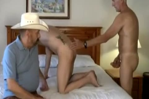Cowboy Silver Daddy And A juvenile twink.mp4