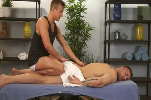 Austin Wolf And Skylar West In A excited homo Porn Massage