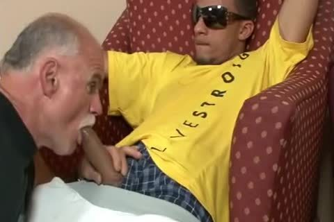 juvenile Thug Destroys older lad gap