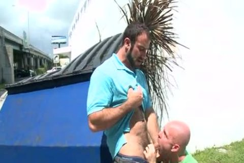 Spencer Reed In Public hammering HD