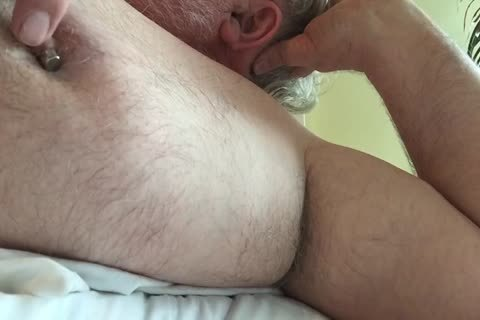 This Week's clip Focuses On My teat And My Armpit. I Tweak My teats Until It Makes My 10-Pounder Hard, Then I jack off And jack off Until I cum. lastly, I Rub My BearChub Load Into My Armpit Hair For u To engulf.